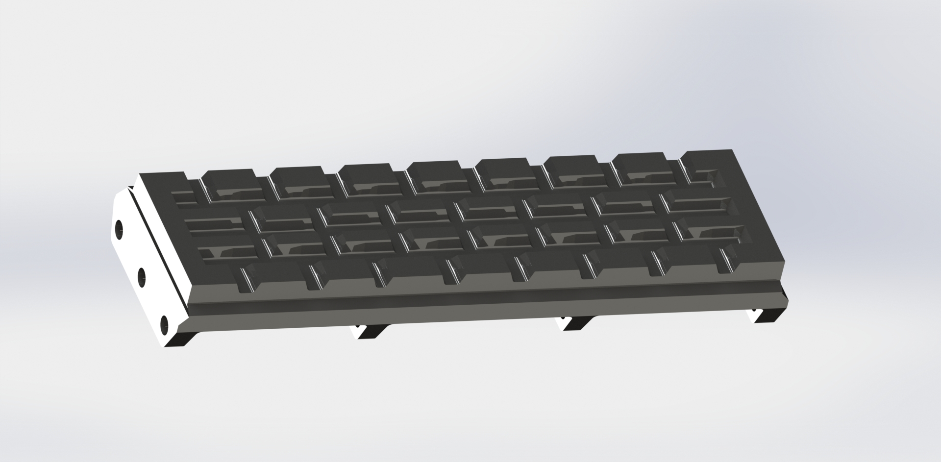 80108 Rear Roof Grate