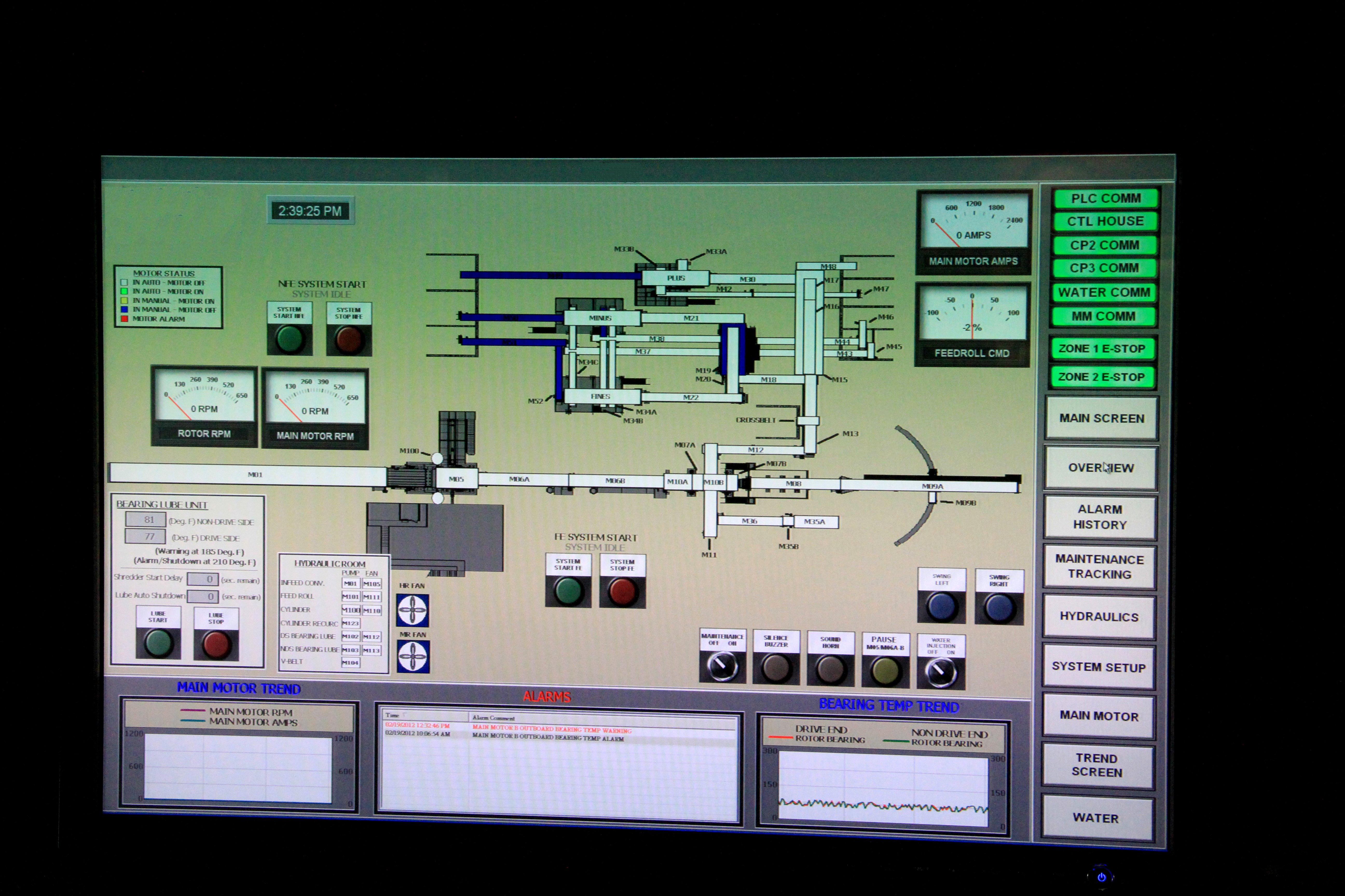 control panelREV